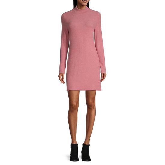 Arizona-Juniors Long Sleeve Swing Dresses