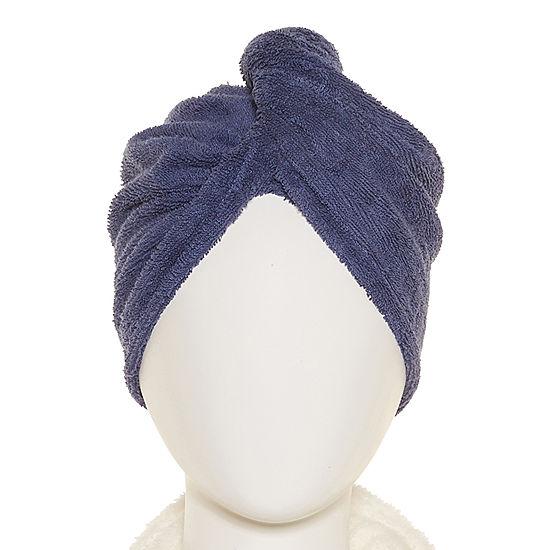 Worn Indigo Hair Wrap