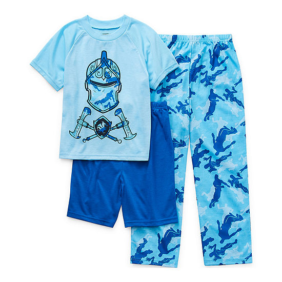Little & Big Boys 3-pc. Fortnite Pajama Set