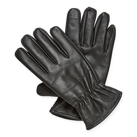 JF J.Ferrar Mens Leather Cold Weather Gloves
