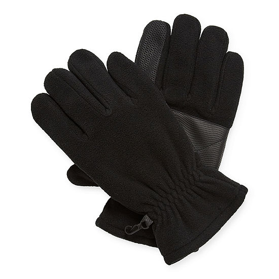 St. John's Bay Mens Fleece Cold Weather Gloves