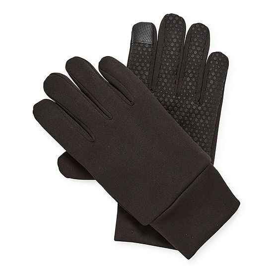 Xersion Stretch Tech Mens Knit Cold Weather Gloves