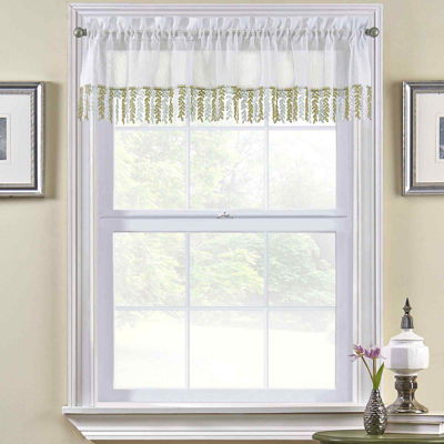 Bristol Rod-Pocket Tailored Valance