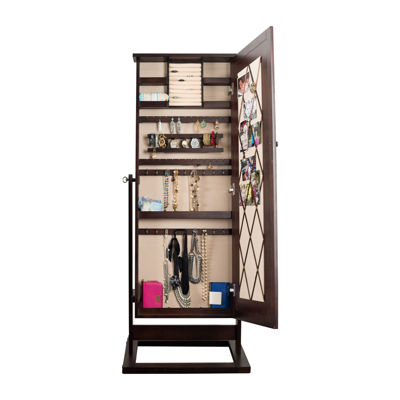 Hives and Honey Cheval Pinboard Jewelry Armoire