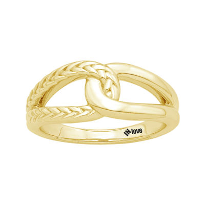 IN Love 14K Yellow Gold Infinity Ring