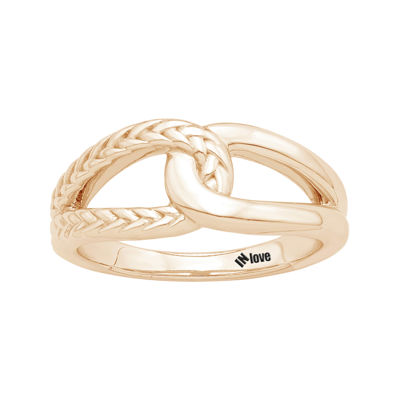IN Love 14K Rose Gold Infinity Ring