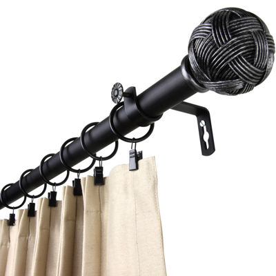 "Rod Desyne Twine 1"" Adjustable Curtain Rod"