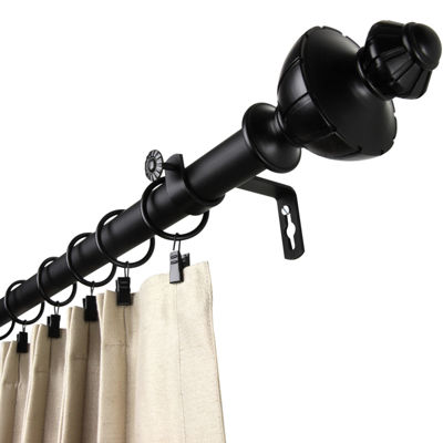 "Rod Desyne Jerome 1"" Adjustable Curtain Rod"