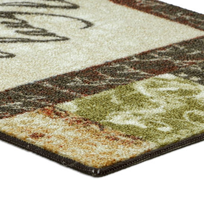 JCPenney Home™ Live and Laugh Washable Kitchen Rug