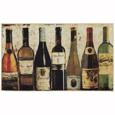 JCPenney Home™ Wine Row Washable Kitchen Rug