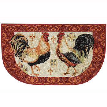 Jcpenney Home Bohemian Rooster Washable Kitchen Rug Color Multi