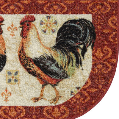 JCPenney Home™ Bohemian Rooster Washable Kitchen Rug
