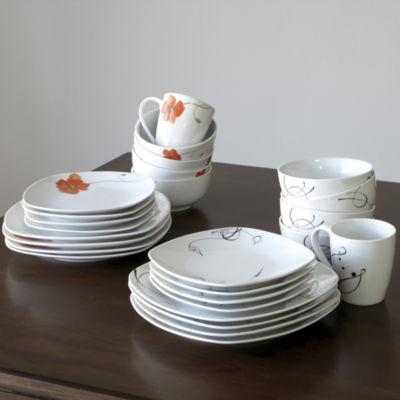 Tabletops Unlimited® Pescara 16-pc. Porcelain Dinnerware Set