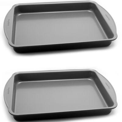BergHOFF® EarthChef Set of 2 Oblong Nonstick Cake Pans
