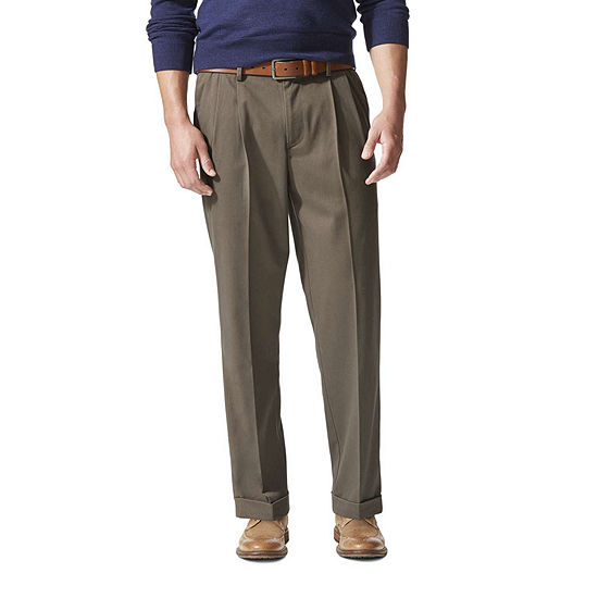 Dockers® Men's Relaxed Fit Comfort Khaki Cuffed Pleated Pants