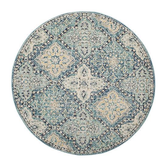 Safavieh Karima Geometric Round Rugs