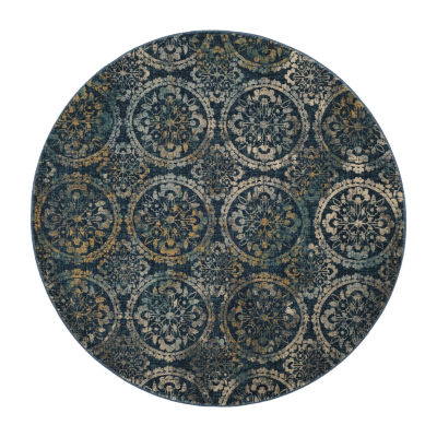 Safavieh Lincoln Damask Round Rugs