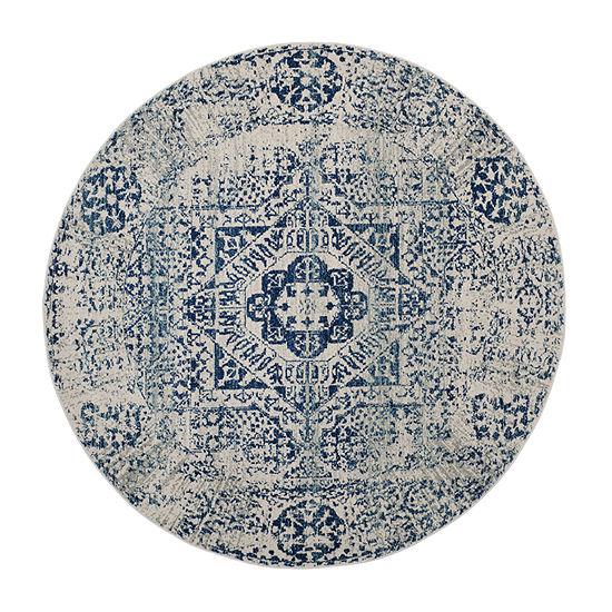 Safavieh Kierra Geometric Round Rugs