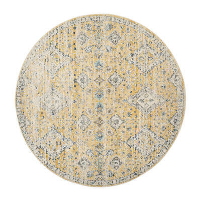 Safavieh Alphonse Geometric Round Rugs