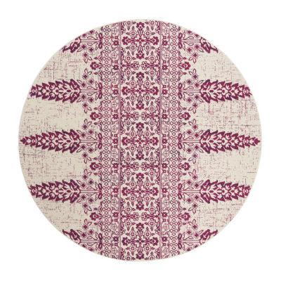 Safavieh Tatyanna Geometric Round Rugs