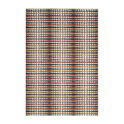 Safavieh Dorian Geometric Shag Rectangular Rugs