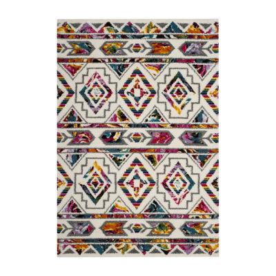 Safavieh Colleen Geometric Shag Rectangular Rugs