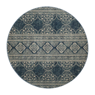Safavieh Hugo Geometric Round Rugs