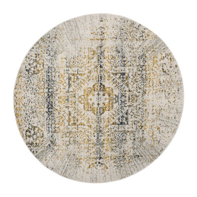 Safavieh Sutton Abstract Round Rugs