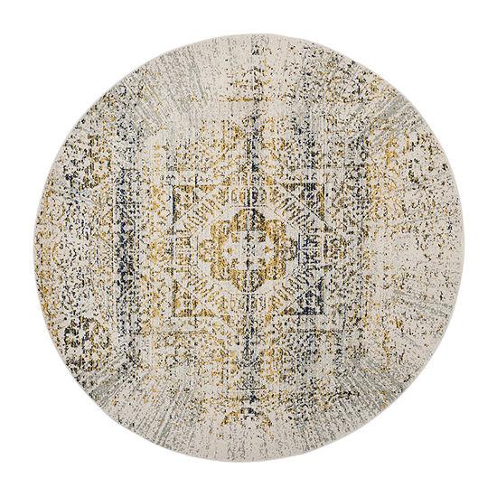 Safavieh Sutton Abstract Round Rugs