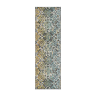 Safavieh Catriona Damask Rectangular Runner