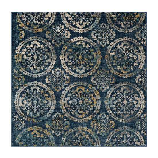 Safavieh Lincoln Damask Square Rugs