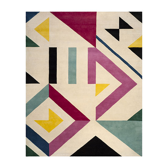 Safavieh Timson Abstract Hand Tufted Rectangular Rugs