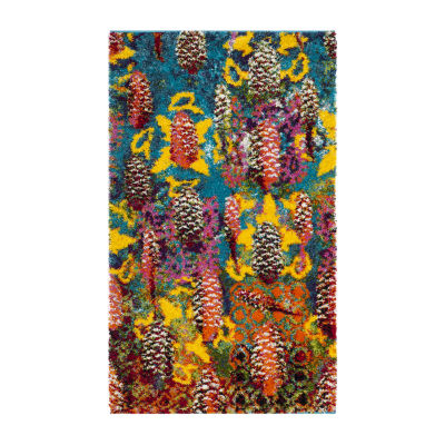Safavieh Mayson Abstract Shag Rectangular Rugs