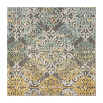 Safavieh Catriona Damask Square Rugs