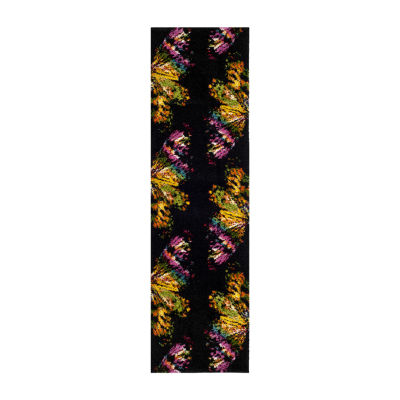 Safavieh Phyliss Abstract Shag Rectangular Runner