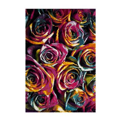 Safavieh Tiphanie Floral Shag Rectangular Rugs