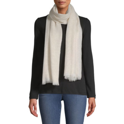 Mixit Shine Woven Oblong Scarf