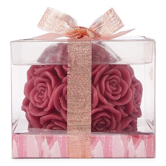 Mixit Rose Shaped Jar Candle