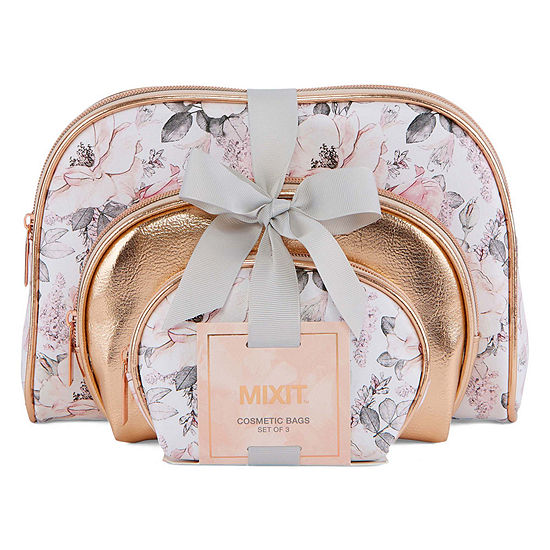 Mixit 3-pc. Makeup Bag