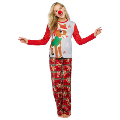 Rudolph The Red Nose Reindeer 2-pc. Holiday Pant Pajama Set