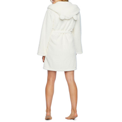 Pj Couture Galore Long Sleeve Plush Robe-Juniors