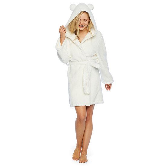 Pj Couture Galore Long Sleeve Plush Robe-Juniors