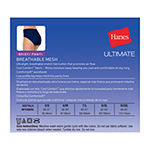 Hanes Ultra Light Breathable 4 Pair Brief Panty 40ulbf