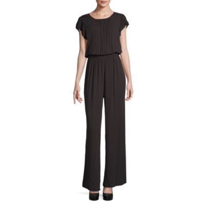 a.n.a Cropped Jumpsuit with Flutter Sleeve - Tall