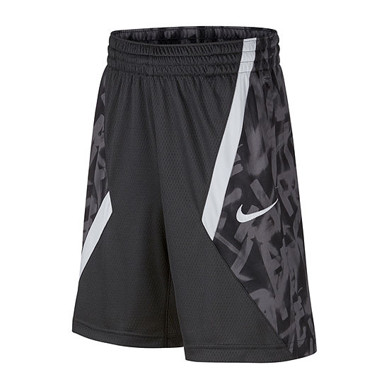 Nike Boys Drawstring Waist Basketball Short - Big Kid