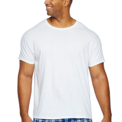Hanes 4-pc. Short Sleeve Crew Neck T-Shirt-Big
