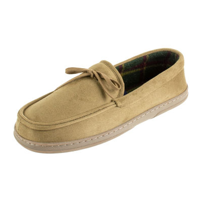 Men's Stafford Moccasin Slippers - Wide