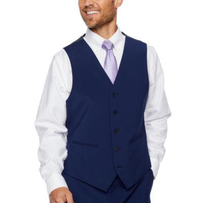 Claiborne Classic Fit Stretch Suit Vest