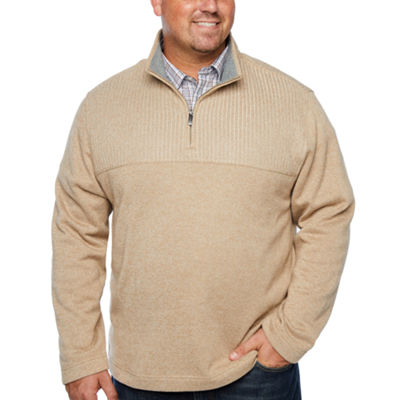 Van Heusen Long Sleeve Pullover Sweater - Big and Tall
