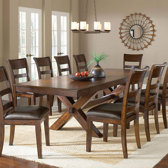 Hillsdale House Park Avenue 11 Pc Rectangular Dining Set